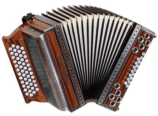Stubach Palisander Alpengold Harmonika