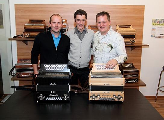 Herbert Pixner Alpengold Harmonika