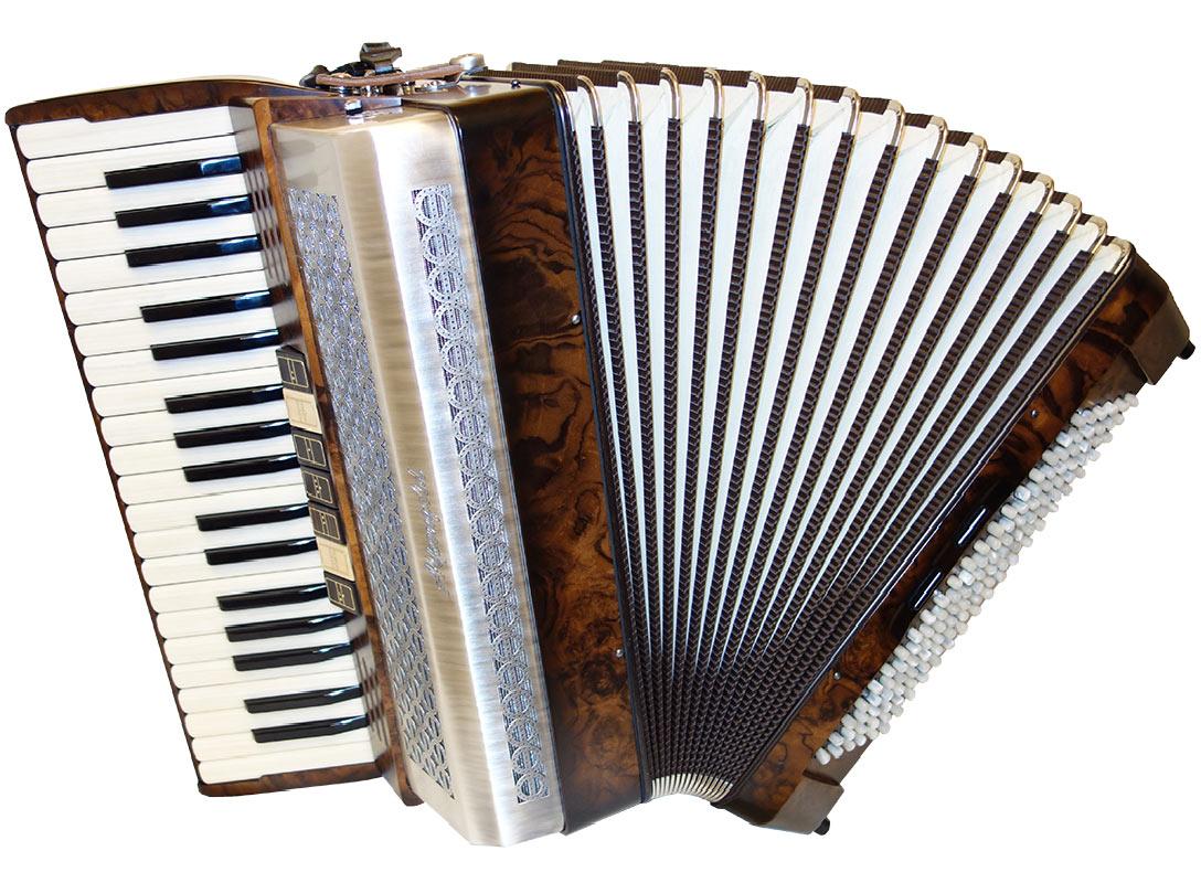 Volksmusik-Modell-4S-Wurzel-Nuss