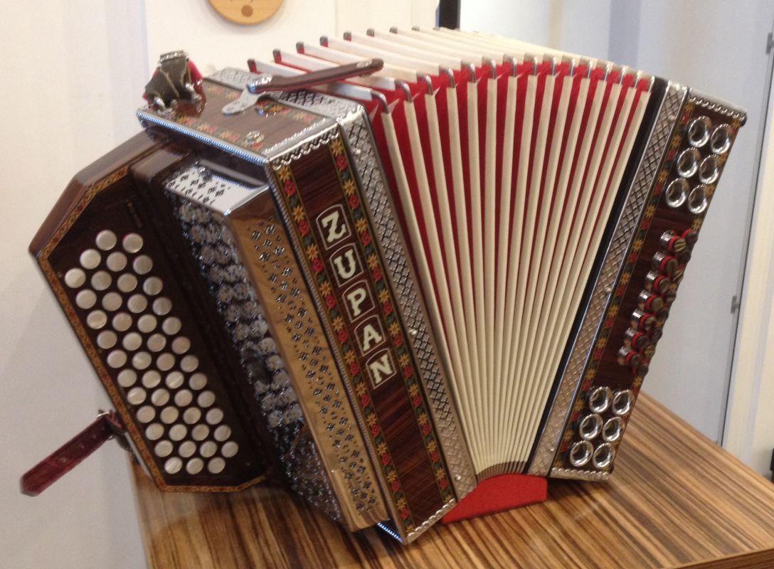 Zupan 46 15 Gcfb Palisander Alpengold Harmonika